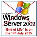 The End of Windows Server 2003