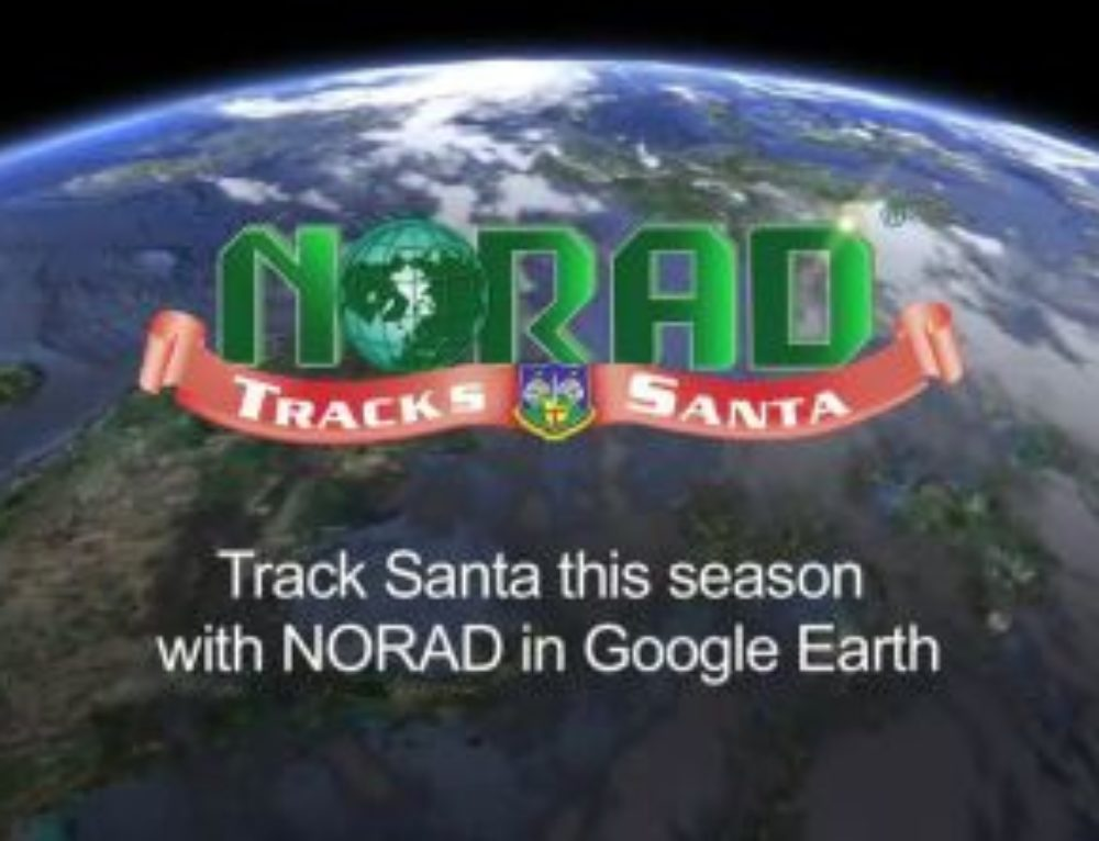 Track Santa's progress to you!