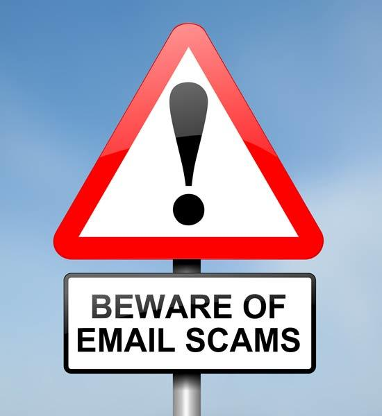 email scams how not to get caught out