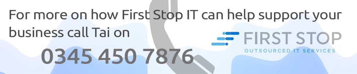 Contact Tai on 0345 450 7876