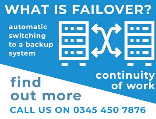 What is failover and why is it important?