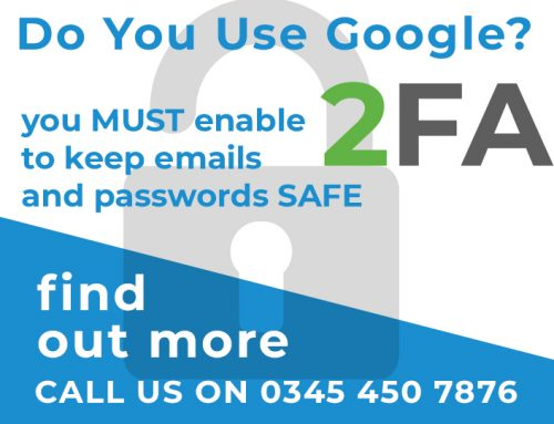 Storing your passwords in Google? You need 2-Factor Authentication