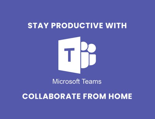 Using Microsoft Teams to Stay Productive